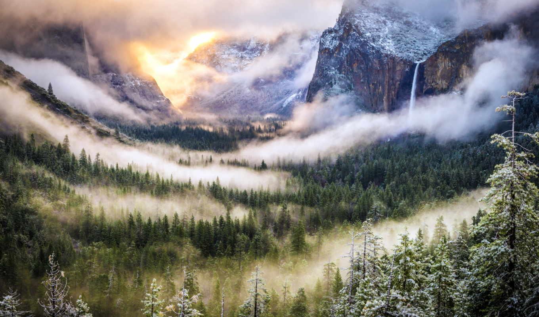 долина, usa, yosemite, мест, самых, красивых, земле, йосемитская, subcmdr,