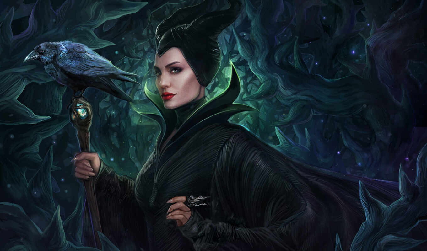 maleficent, малефисента, июн, disney, evil, art, queen,