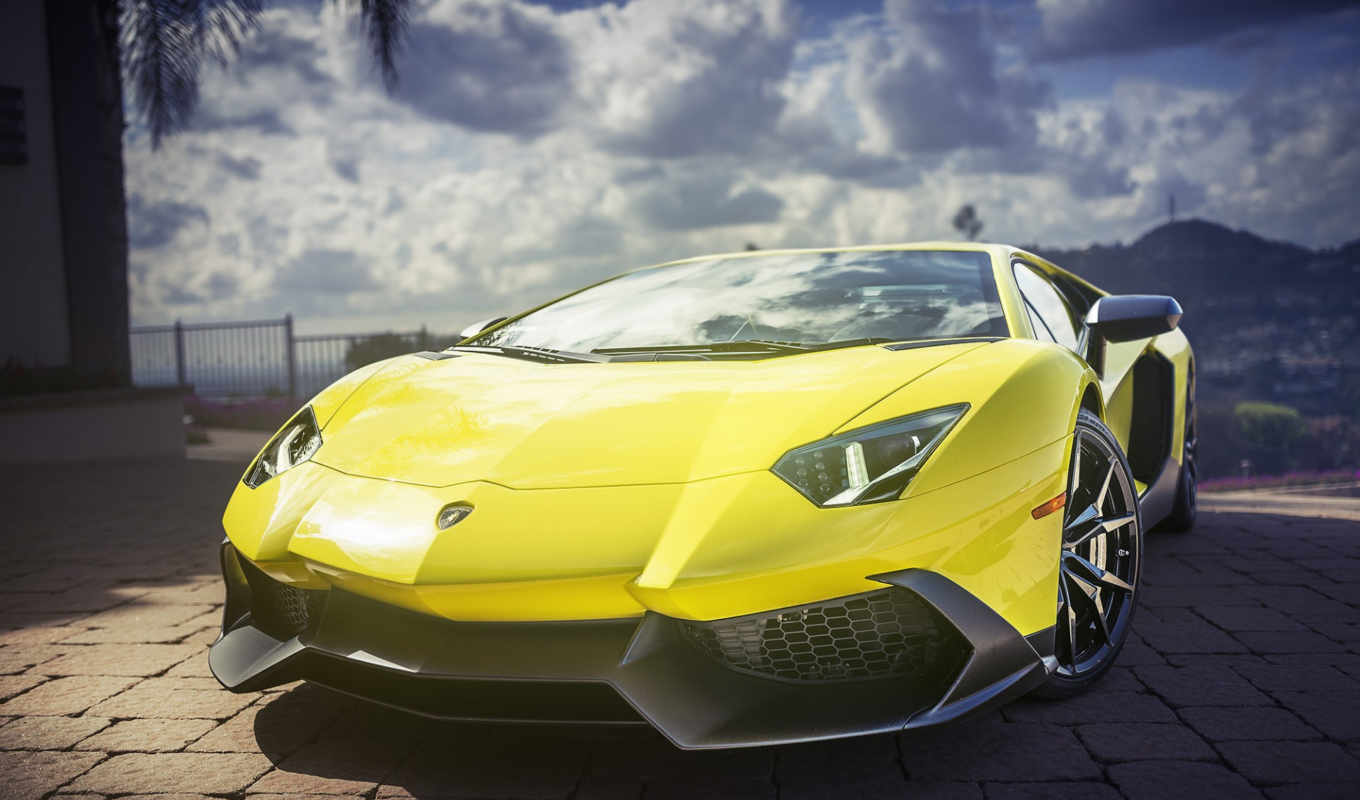 iphone, lamborghini, автомобили, aventador,