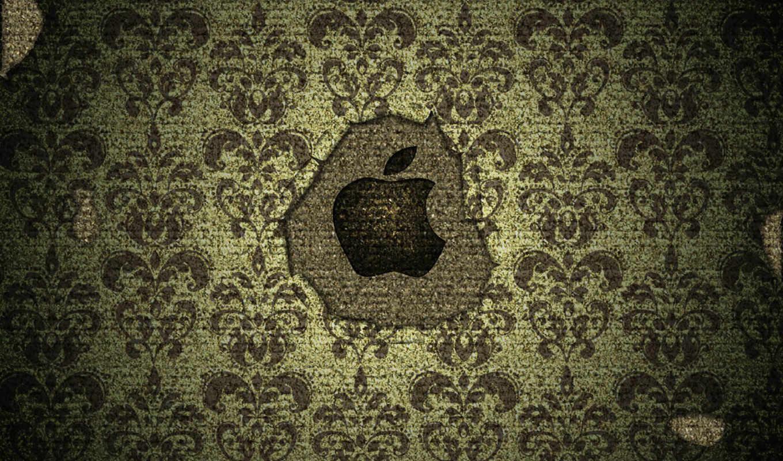 apple, logo, текстура,