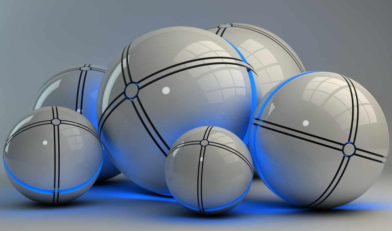 шарики, blue, glowing, мяч,, teufel, views, dracu,