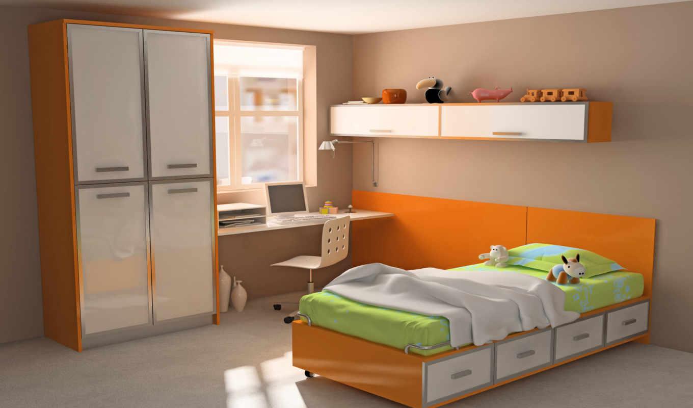 детской, дизайн, комната, комнаты, детская, быть,