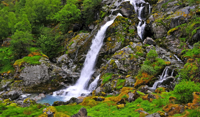 водопады, природа, пейзажи -, водапад,