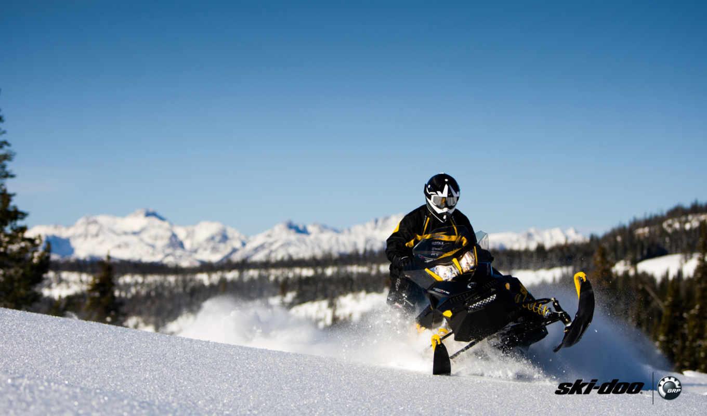 снегоход, doo, extreme, ski, ski-doo, sled, snow, snowmobile, winter,