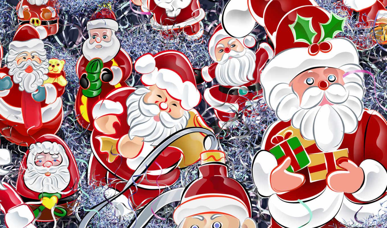 новый, открытки, год, christmas, мороз, дед, новогодние, santas, desktop, годом, новым,
