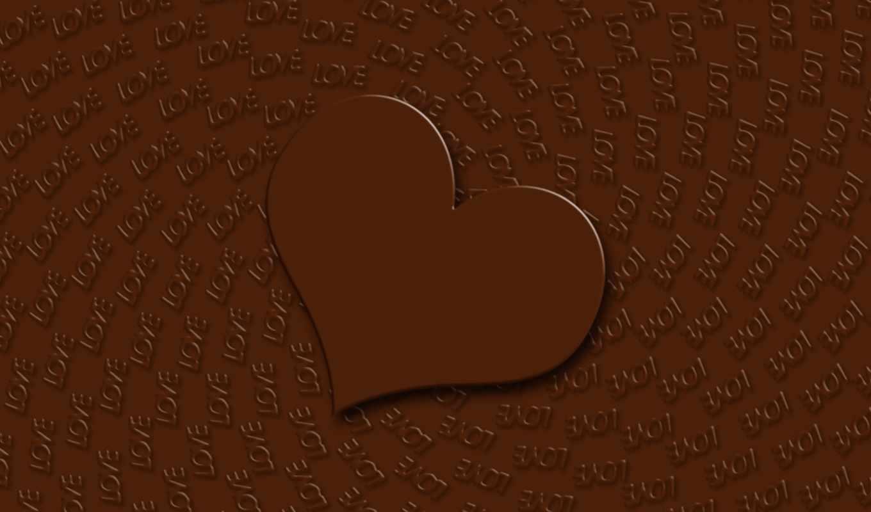 сердце, love, шоколад