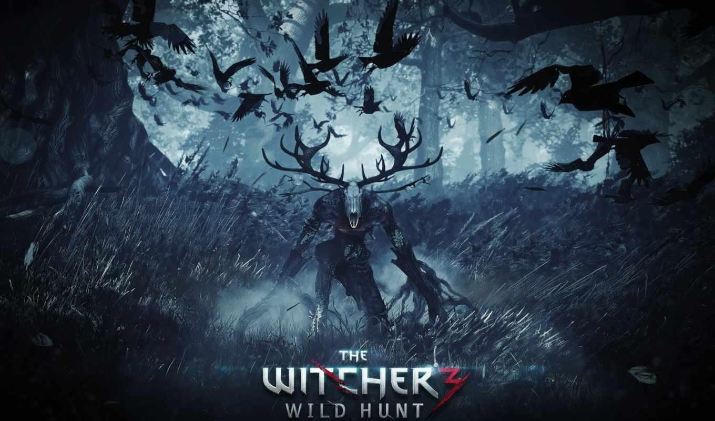ведьмак, дикая, охота, hunt, ведьмак, wild, игры, част,