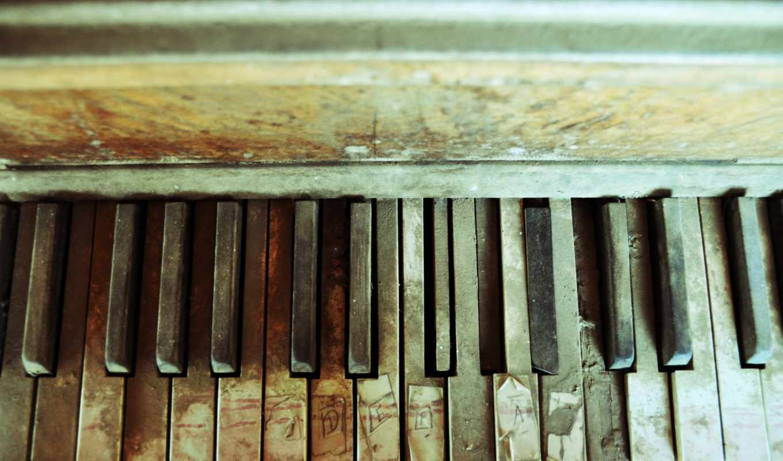 piano, abandoned, картинка, desktop, текстура, ipad, разное, music, tags, изображение,
