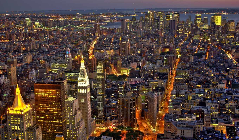 new, york, manhattan, city, usa,