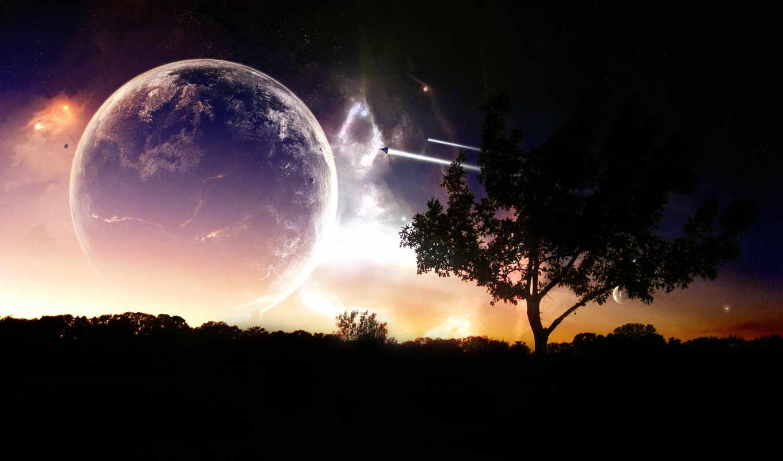 landscape, cosmic, космическая, романтика,
