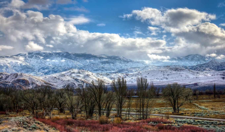 дорога, гора, landscape, desktop, природа, high, best,