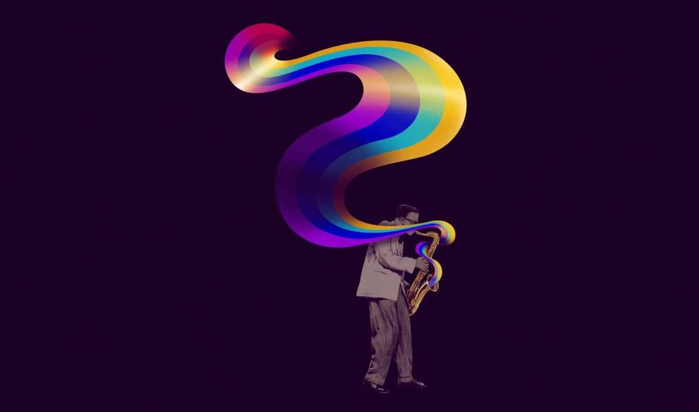 музыкант, минимализм, саксофон, креатив, фиолетовый, картинку, картинка, так, поделиться, понравившимися, картинками, мыши, же, кномку, кликните, кнопкой, левой, салатовую,