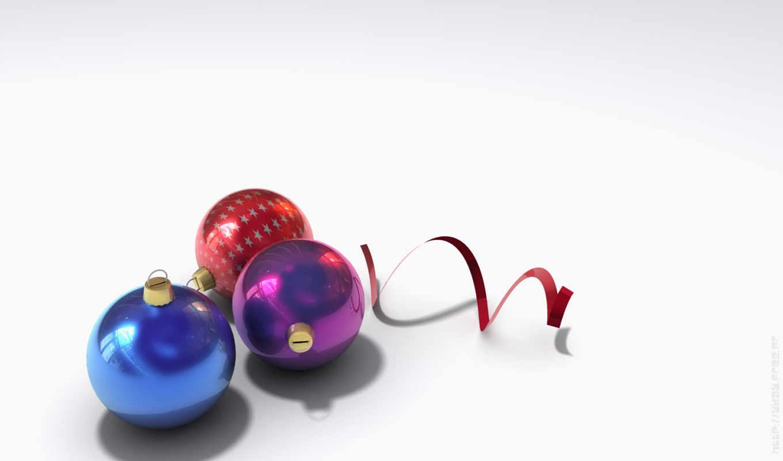 новый, шарики, год, серпантин, christmas, decoration, years, смотрите,