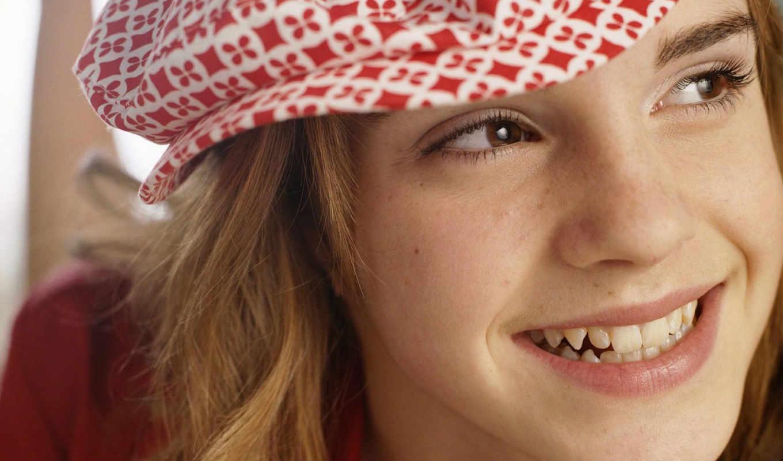 emma, watson, улыбка, cute,