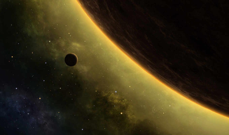 ,спутник,планета,звезды,затмение,