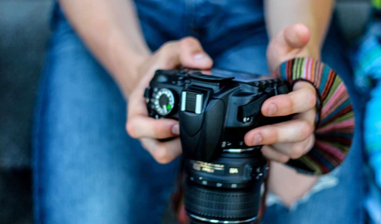 фотоаппарат, девушка, black, трюм, tech, nikon, chroma, house, лицо, женщина, razer