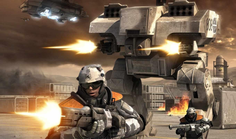 battlefield, война, игра, будущее,