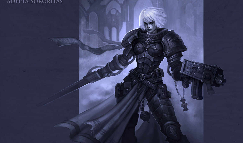 adepta, sororitas, warhammer, сестры, битвы,