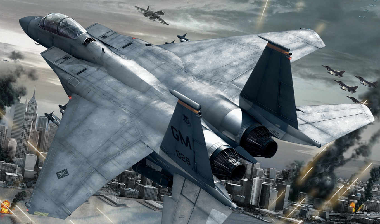 combat, ace, liberation, fires, самолёт, avion, guerra, война, истребитель, desktop, widescreen, город, ipad,