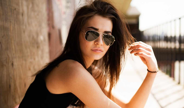 sunglasses, очки, devushki, очках, солнцезащитные, time, women, brunettes, aviators, aviator,