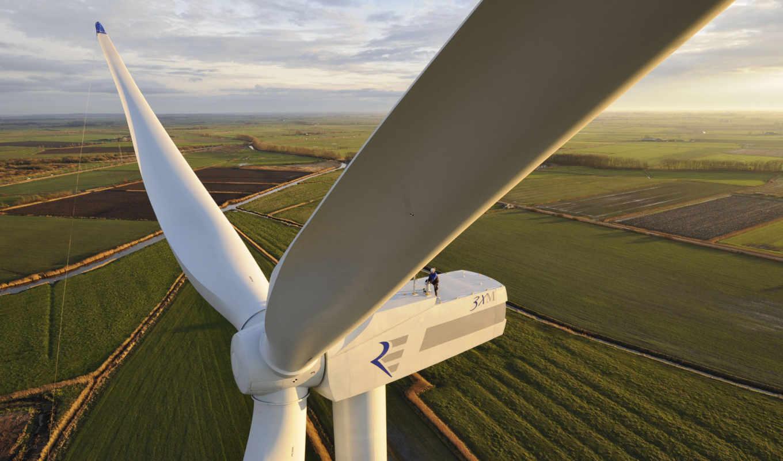 ,электростанция, ветровые, энергия, нетрадиционые, ветряк,