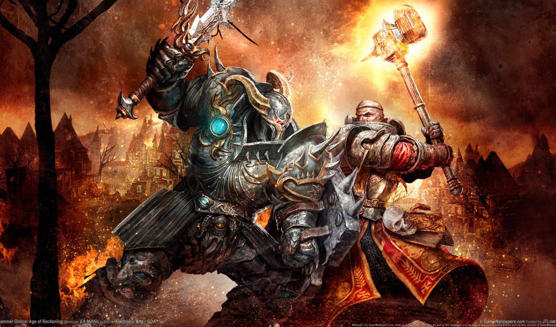 art, битва, warhammer, добра, online, оружие, всему, хороший, злом, мар,