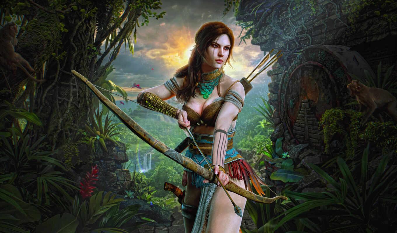 art, tomb, raider, крофт, croft, арта, game, лара