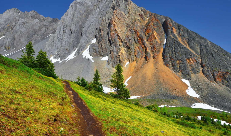 природа, горы, summer, небо,