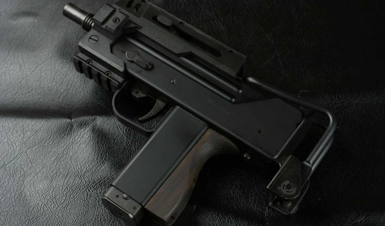 пистолет, оружие, maruzen, small, mac,