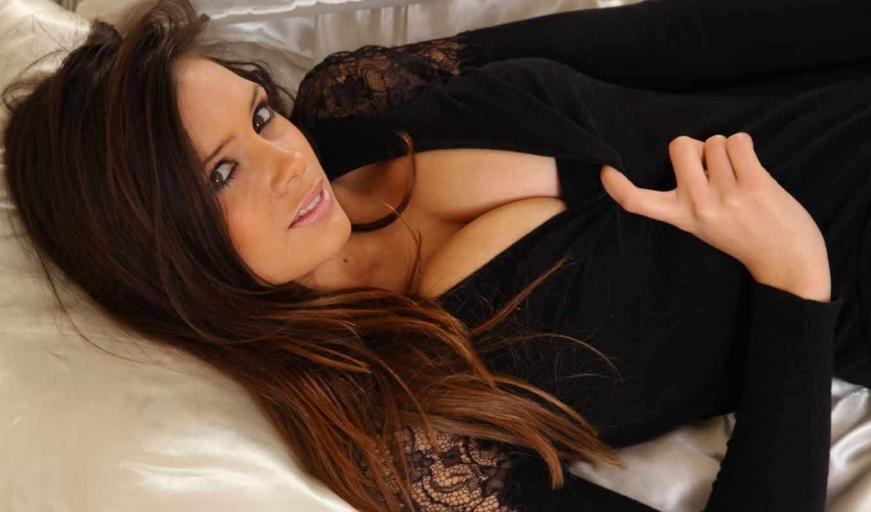 девушки, лицо, красивая, девушка, взгляд, браун, мари, louisa, подушки,