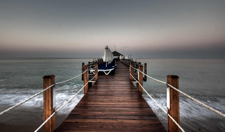 pier, море, моря,