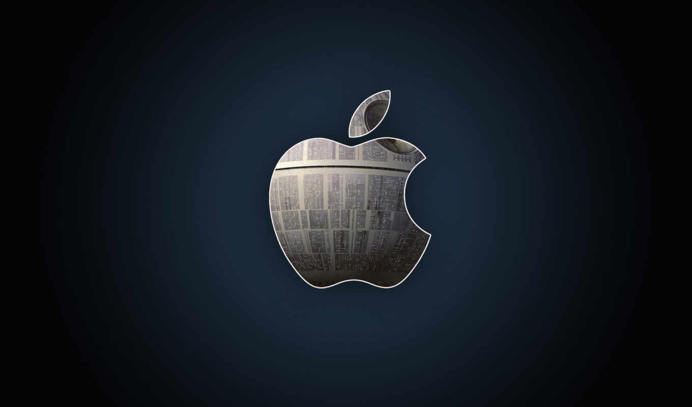 apple, logo, газета, черный