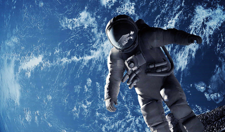 космонавт, космосе, cosmos,