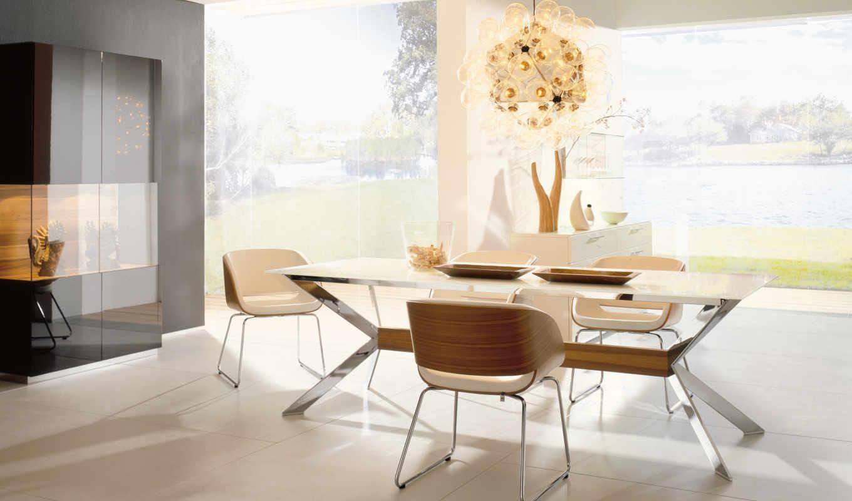 dizain, интерьера, квартиры, столовая, современный, дизайна, современные, нояб, современная, столовой,