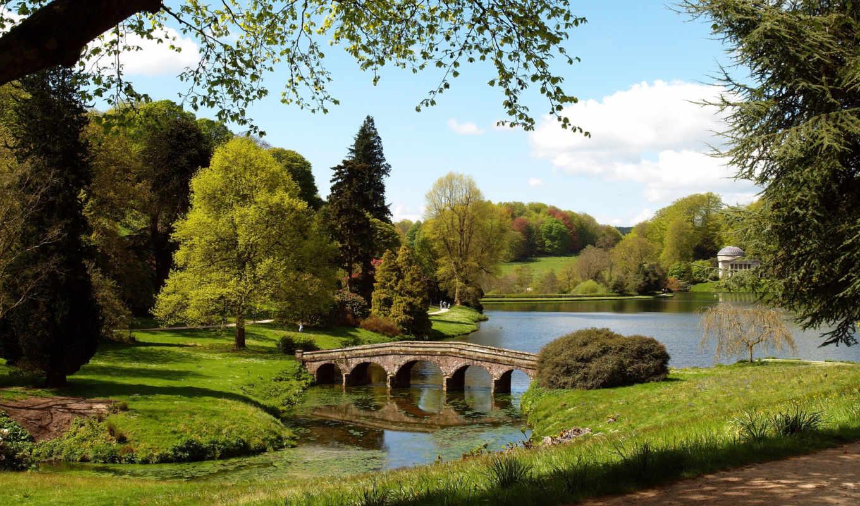 stourhead, garden, англия, поместье, стоурхед,