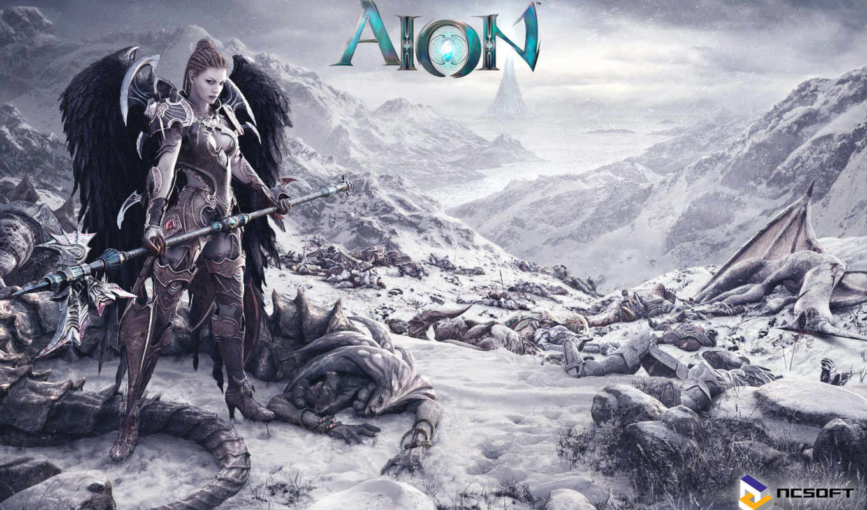 aion, игры, online, angel, башня, eternity,