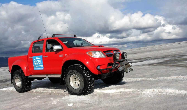 toyota, arctic, hilux, trucks, truck, cab, double,