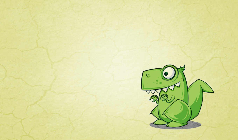 минимализм, dinosaur, динозавр, списку, зеленый,