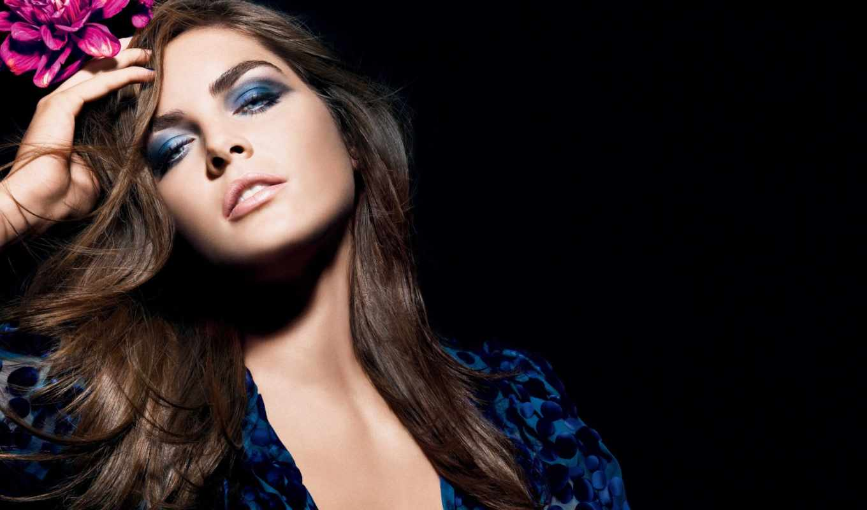 синий, макияж, цвет,