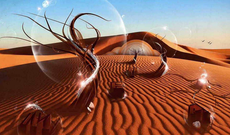 desktop, sfondi, amazing, deserto, del, песок, medaļa,