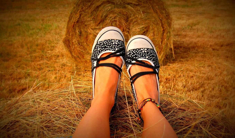 ноги, devushka, настроения, сеновал, настроение, обувь,