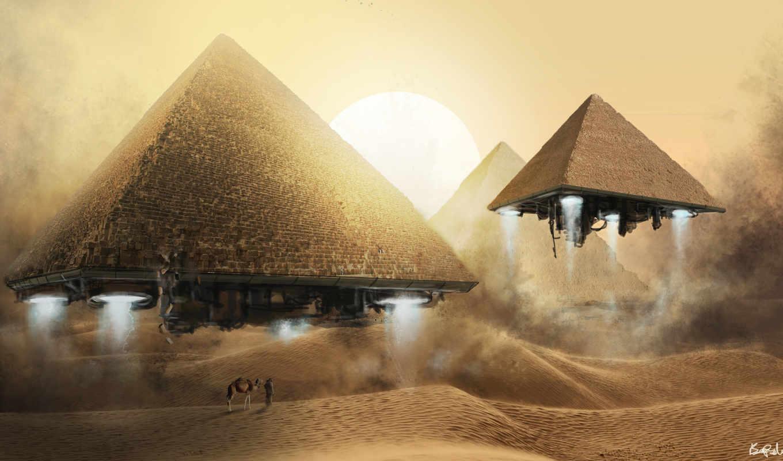 пирамиды, египет, египетских, хеопса, пирамид,