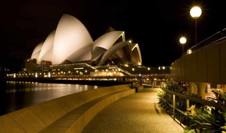 австралия, театр, оперный, сиднейский, house, сидней, картинка, iphone,