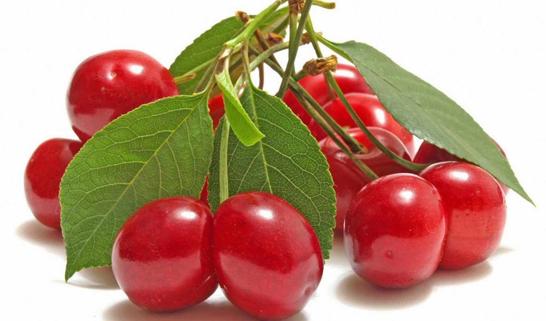 cherry, вкусные, ягоды, еда, красные,