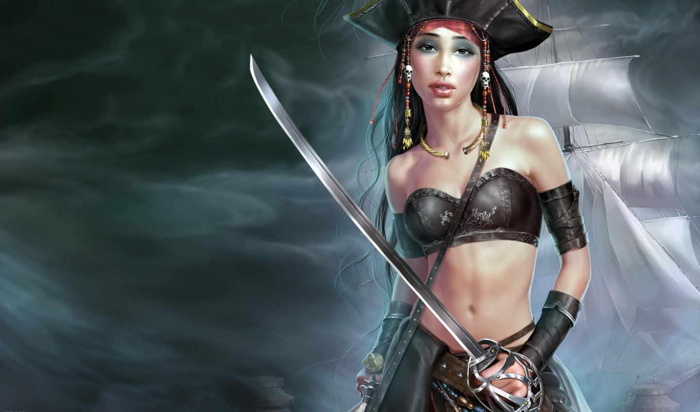 пираты, женский, категории, pirates, art, девушки,