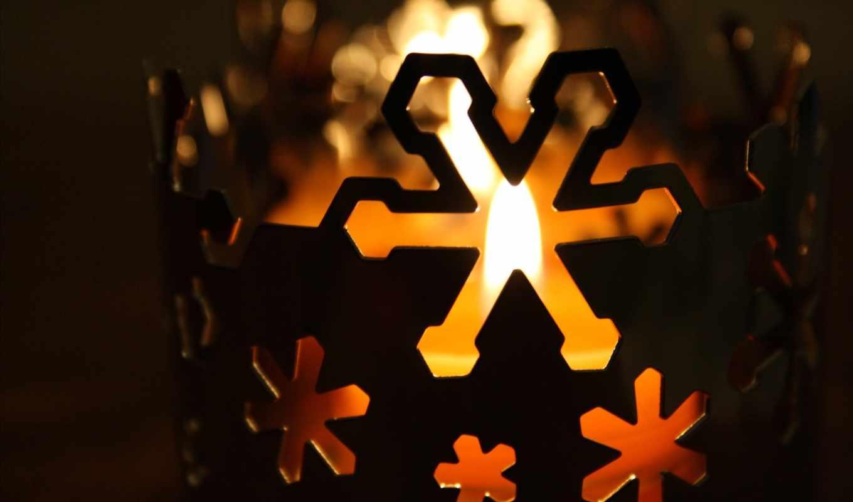 iphone, winter, свеча, снег, праздники,