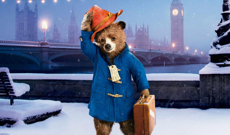 paddington, медведь, паддингтона, приключения, movie, сниматься, london,