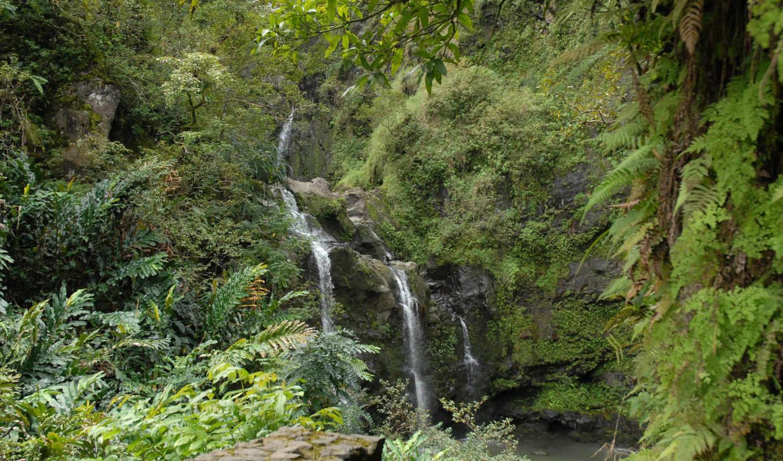 , waterfalls,
