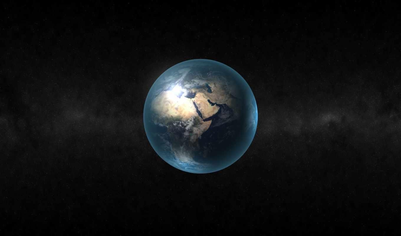 космос, планеты, земля, планета, via,