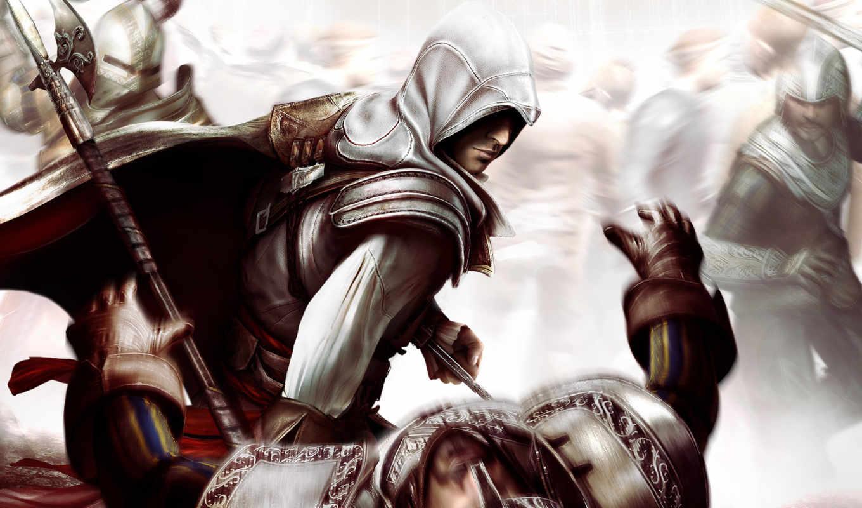 creed, assassin, совершенно, свой, смерть, ezio,